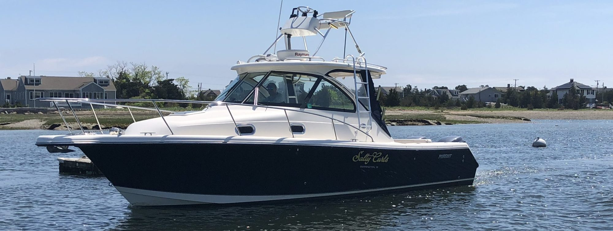 Pursuit saltwater fishing brokerage boat for sale